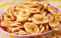 不用烤箱 也能做出酥脆香蕉片!
