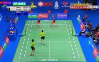 泰国羽球公开赛 国羽收获两金迎新年