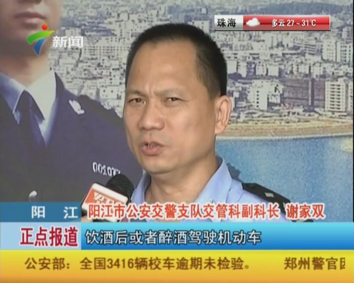 阳江:19人因交通逃逸严重交通违法行为被终生禁驾