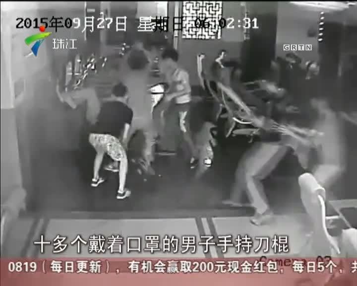 清远:两少年网吧过夜  竟遭刀棍围殴