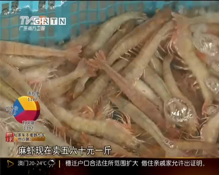"""""""彩虹""""过后:湛江海鲜断供  价格上涨"""