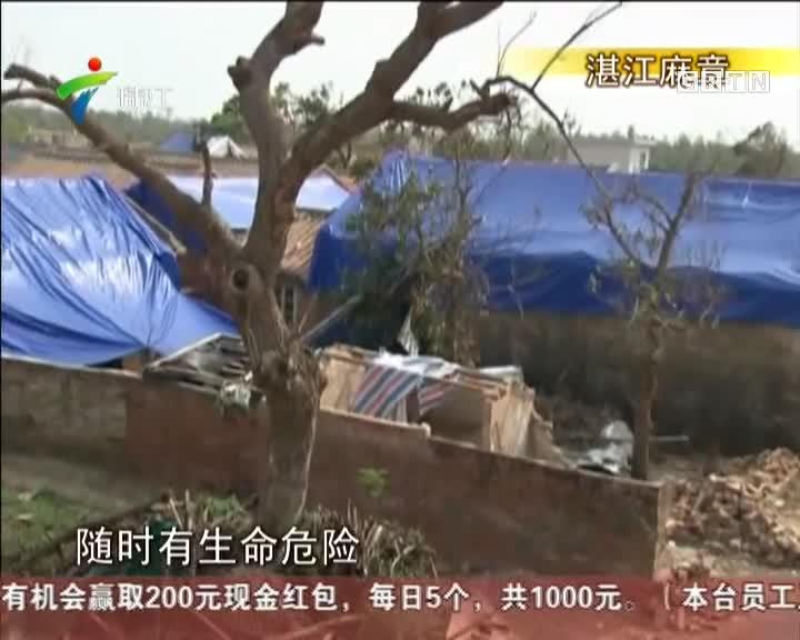 湛江:台风中勇救老人,青年伤重截肢