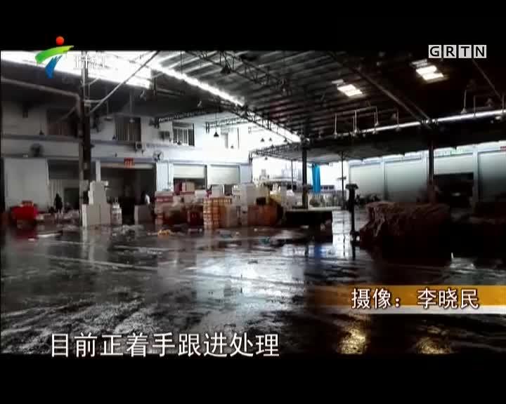 """阳江:高压线下惊现大型违建  居民""""心惊惊"""""""