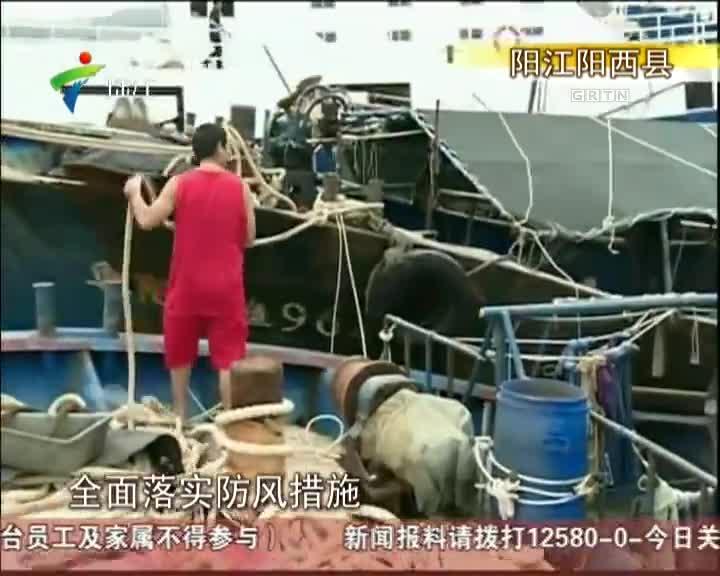 阳江:沿海县区严阵以待  海陵岛继续爆满