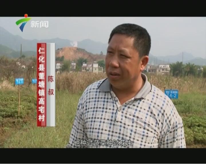 """20151129《广东视窗》:重金属污染耕地修复的""""仁化实验"""""""