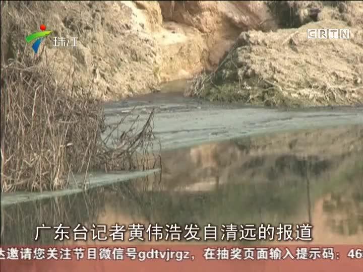 清远:从化建猪场  污染清远水源