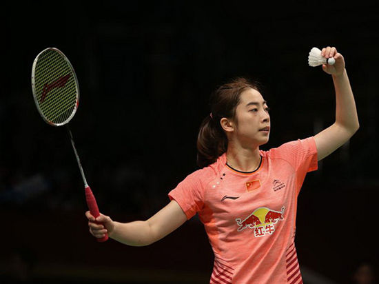碧特博格羽毛球黄金大奖赛  国羽夺女双冠军