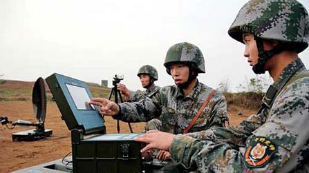 南京军区现代后勤保障实兵演练