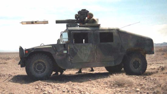 叙利亚反对派竟有美制反坦克导弹