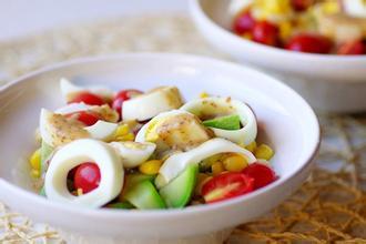 快速方法做鸡蛋沙拉