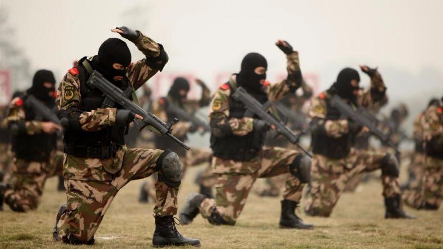 全球反恐 中国出兵小心陷阱