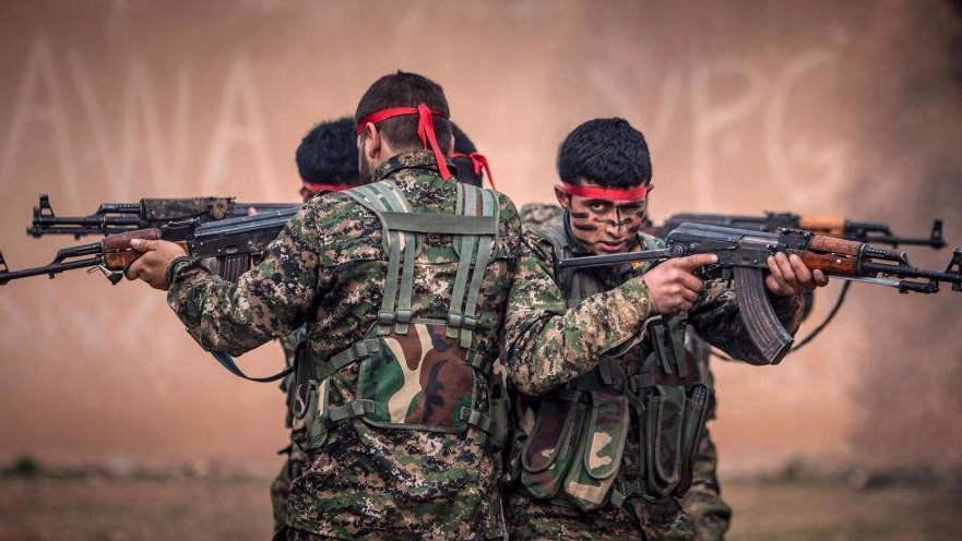 美军地面部队现身叙利亚 培训库尔德武装