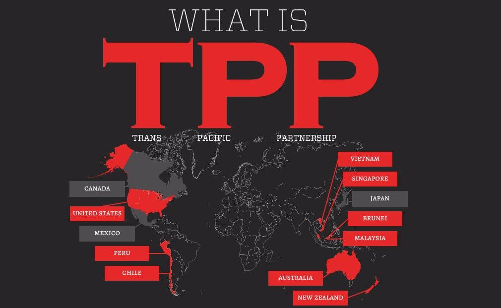 TPP是美国对WTO的反思检查?