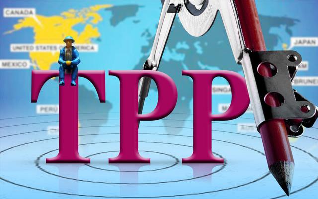 郎咸平痛斥TPP条件