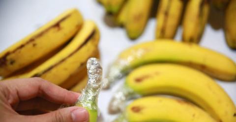 保鲜膜能保住香蕉新鲜度?