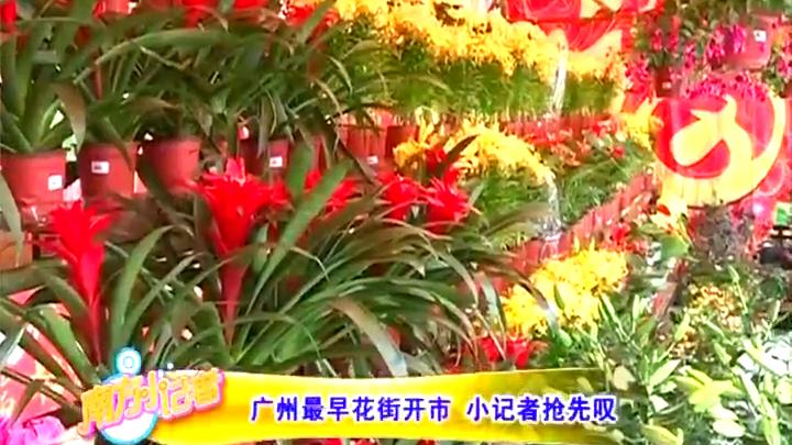 广州最早花街开市 小记者抢先叹