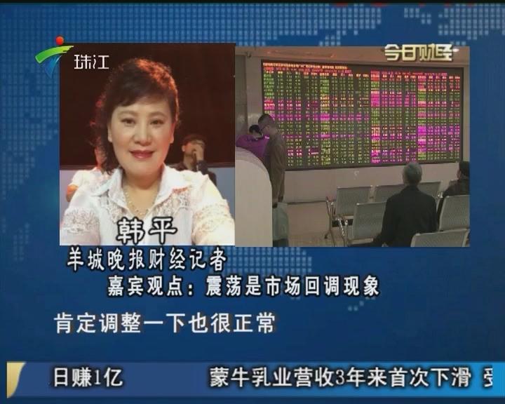 韩平:震荡是市场回调现象