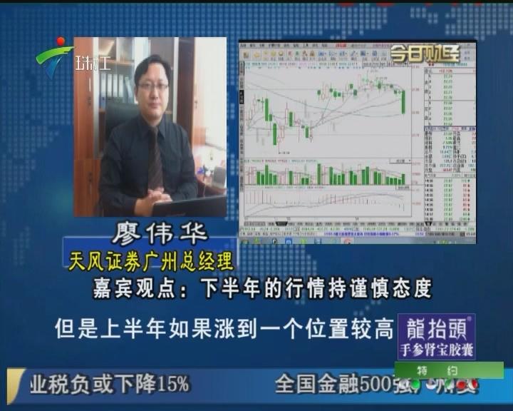 廖伟华:下半年的行情持谨慎态度