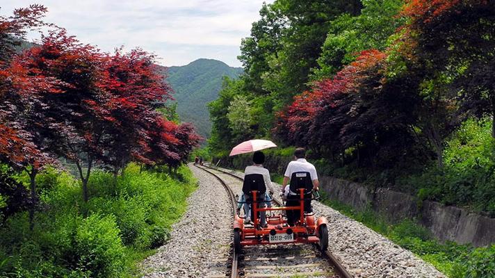 江村铁道自行车
