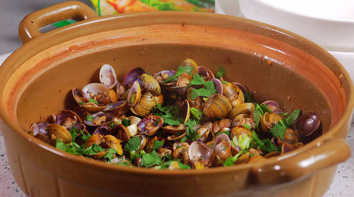 金银蒜焗黄沙蚬