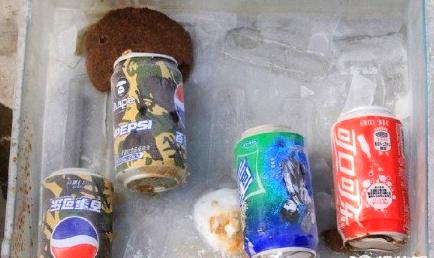 """可乐冰冻变""""定时炸弹""""?"""