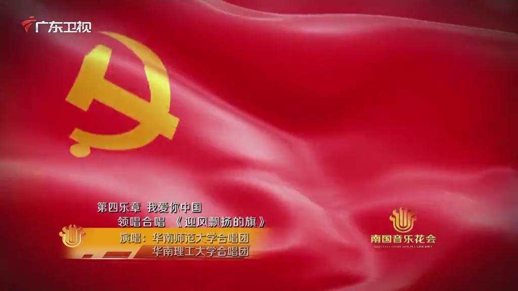 迎风飘扬的旗