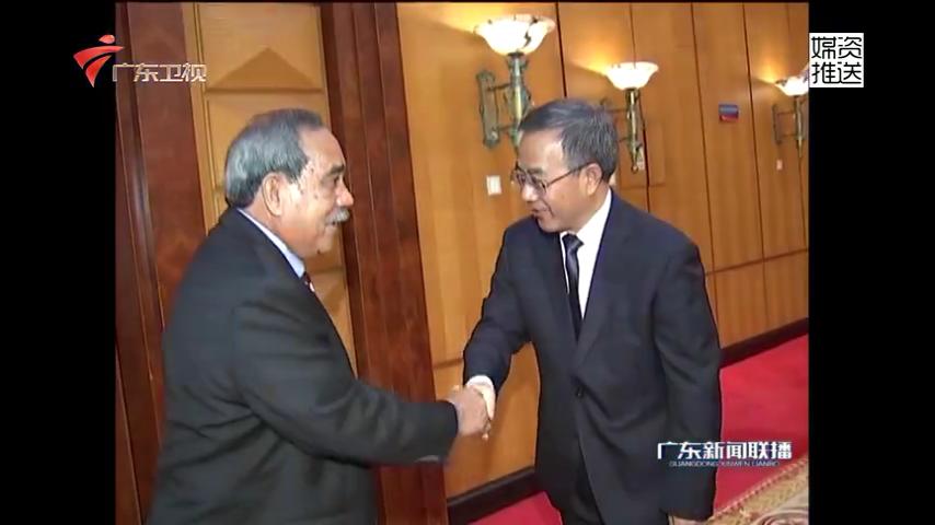 胡春华会见密克罗尼西亚联邦总统