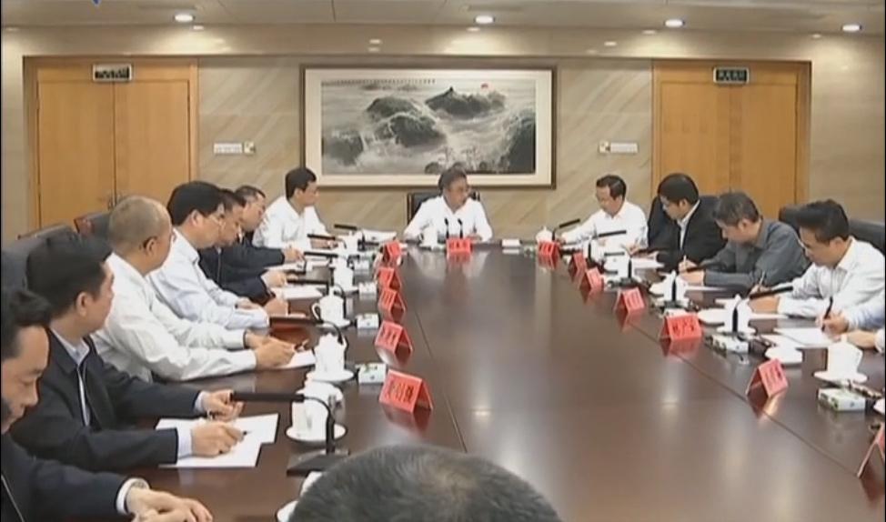 胡春华出席十一届省委第十五轮巡视情况汇报会