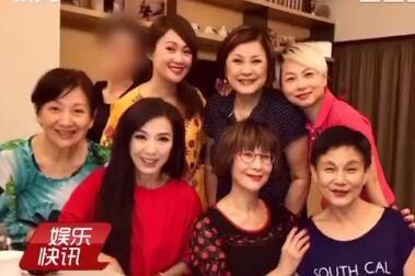 TVB历代小花聚会 美人迟到暮魅力不减当年