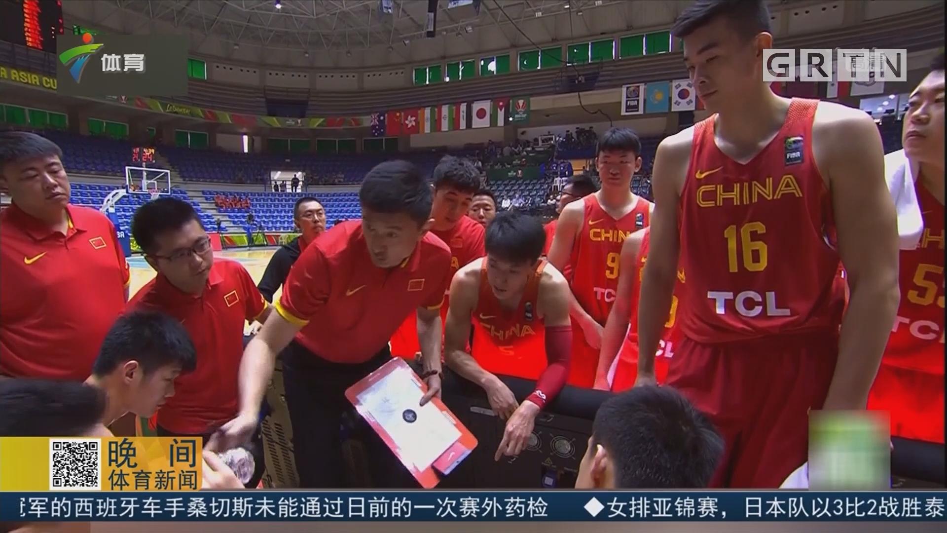 中国男篮蓝队71比97不敌澳大利亚队 无缘男篮亚洲杯四强