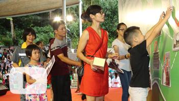 【视频】城市美容师大手牵小手拼出广州著名景点