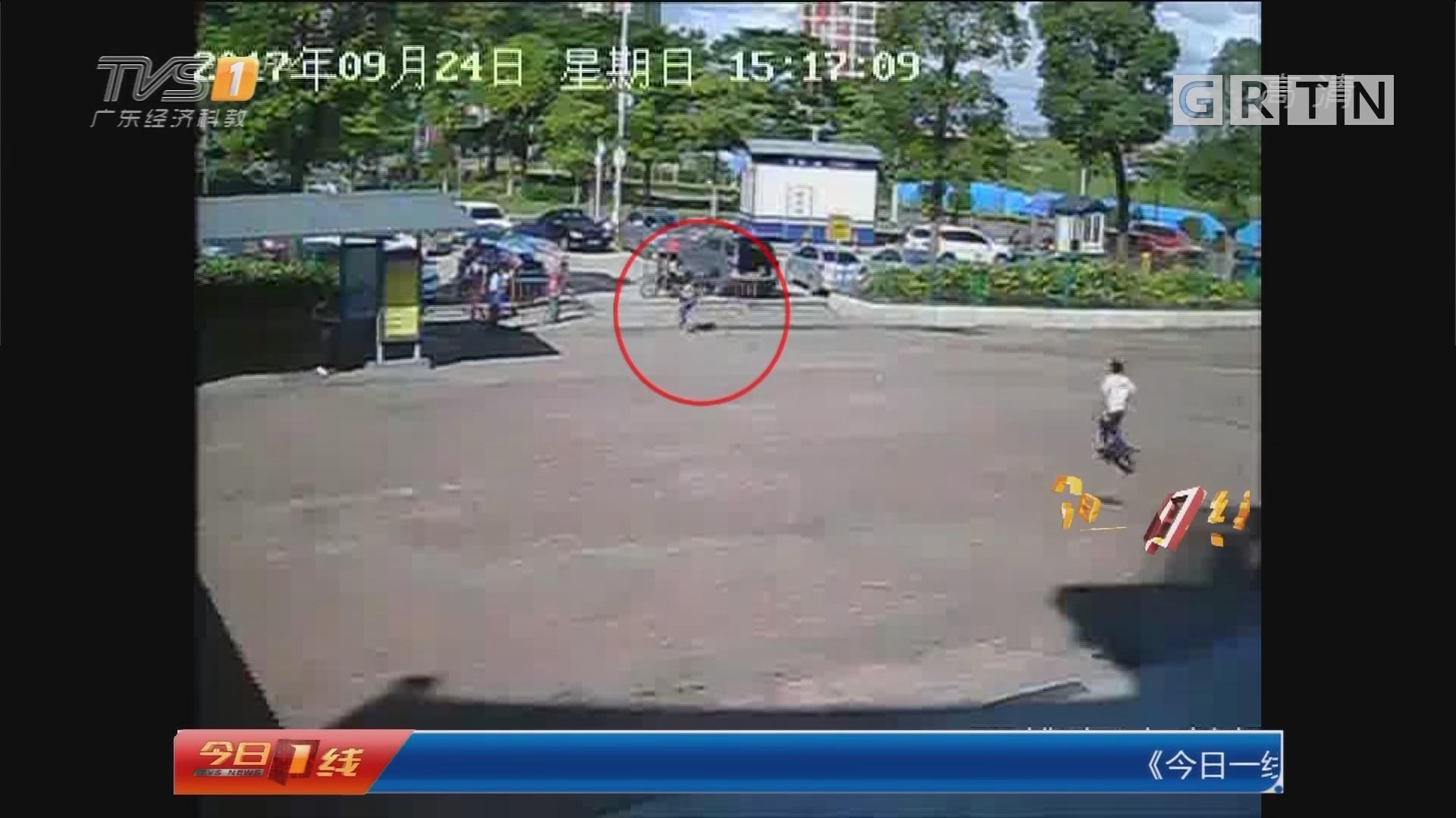 佛山南海:热心司机狂追500米 协助警方抓捕