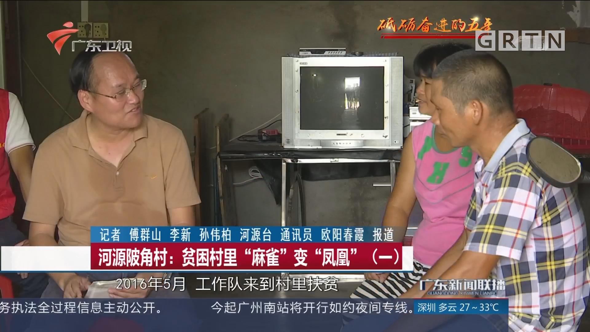 """河源陂角村:贫困村里""""麻雀""""变""""凤凰""""(一)"""