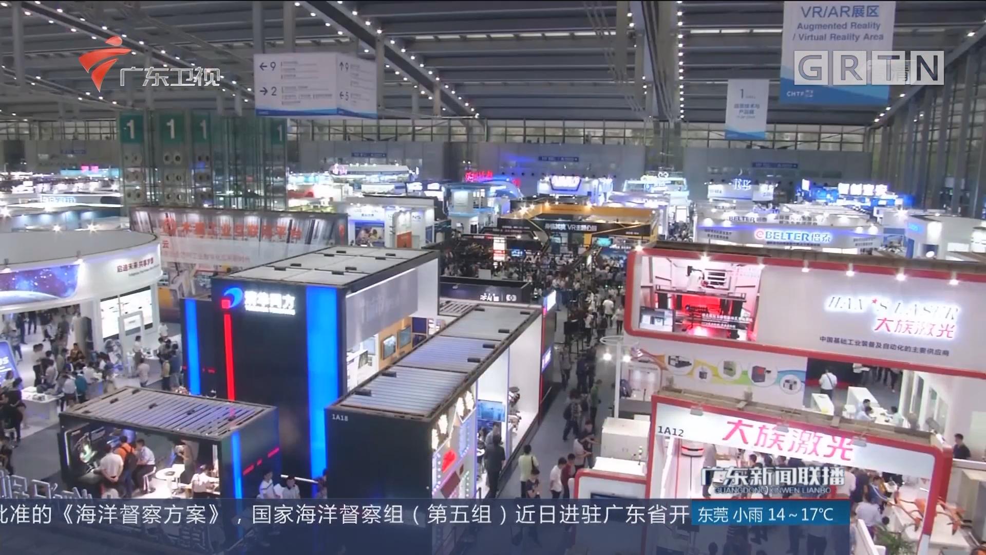 深圳:高交会造就科普教育良机 群众周末观展热情高涨