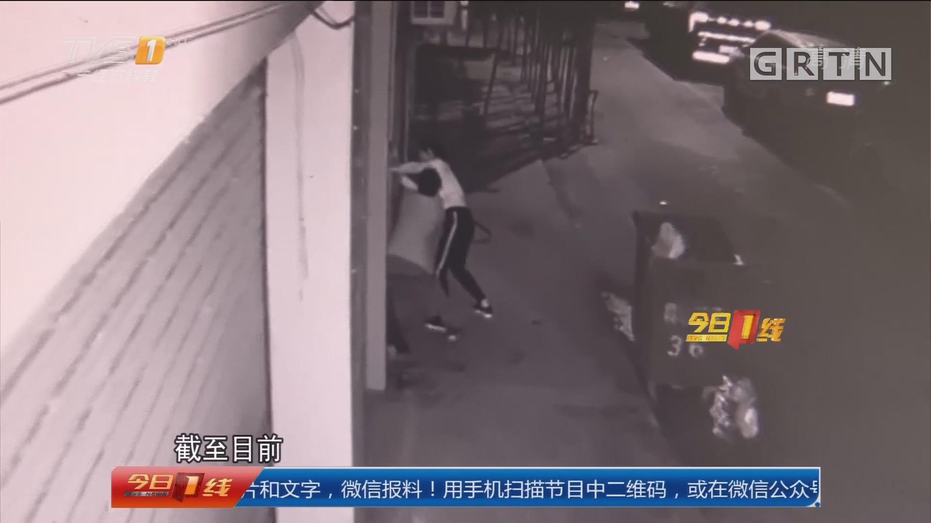 东莞警方通报:警方调查女子深夜遭拖拽侵犯事件
