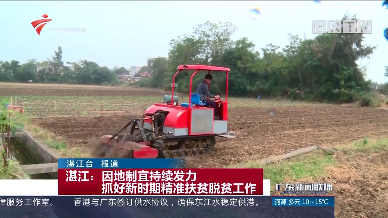 湛江:因地制宜持续发力 抓好新时期精准扶贫脱贫工作