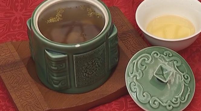 桂花杞子蜂蜜茶