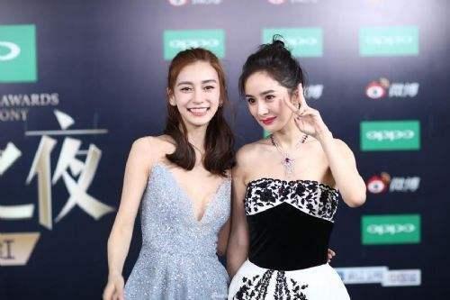 """杨颖不慎摔倒:杨幂的表现被指是""""塑料姐妹花"""""""