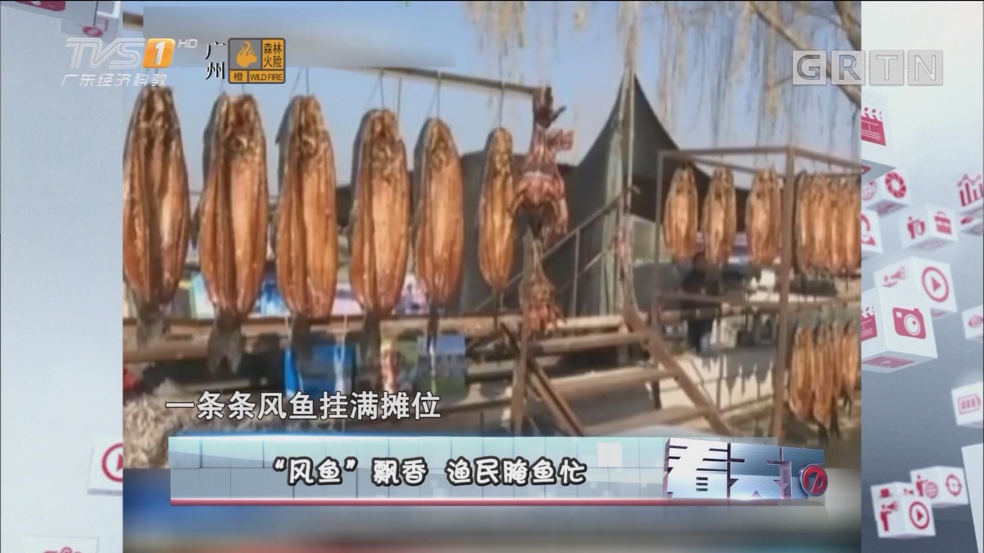 """[HD][2018-01-02]看天下:""""风鱼""""飘香 渔民腌鱼忙"""