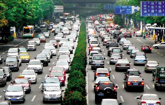 """中国""""堵城""""排行榜 广州什么时候最堵?"""