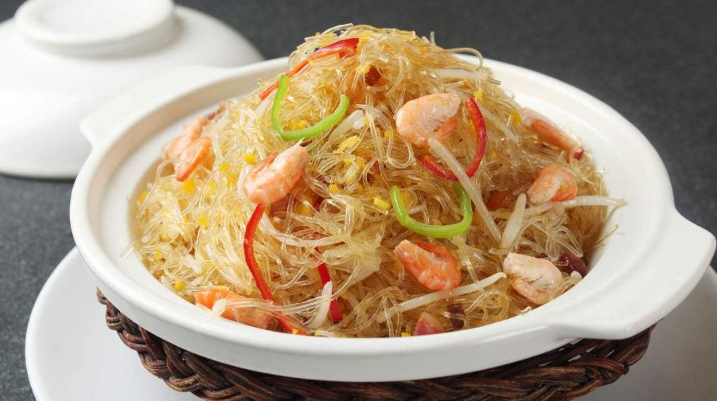 虾米粉丝煲