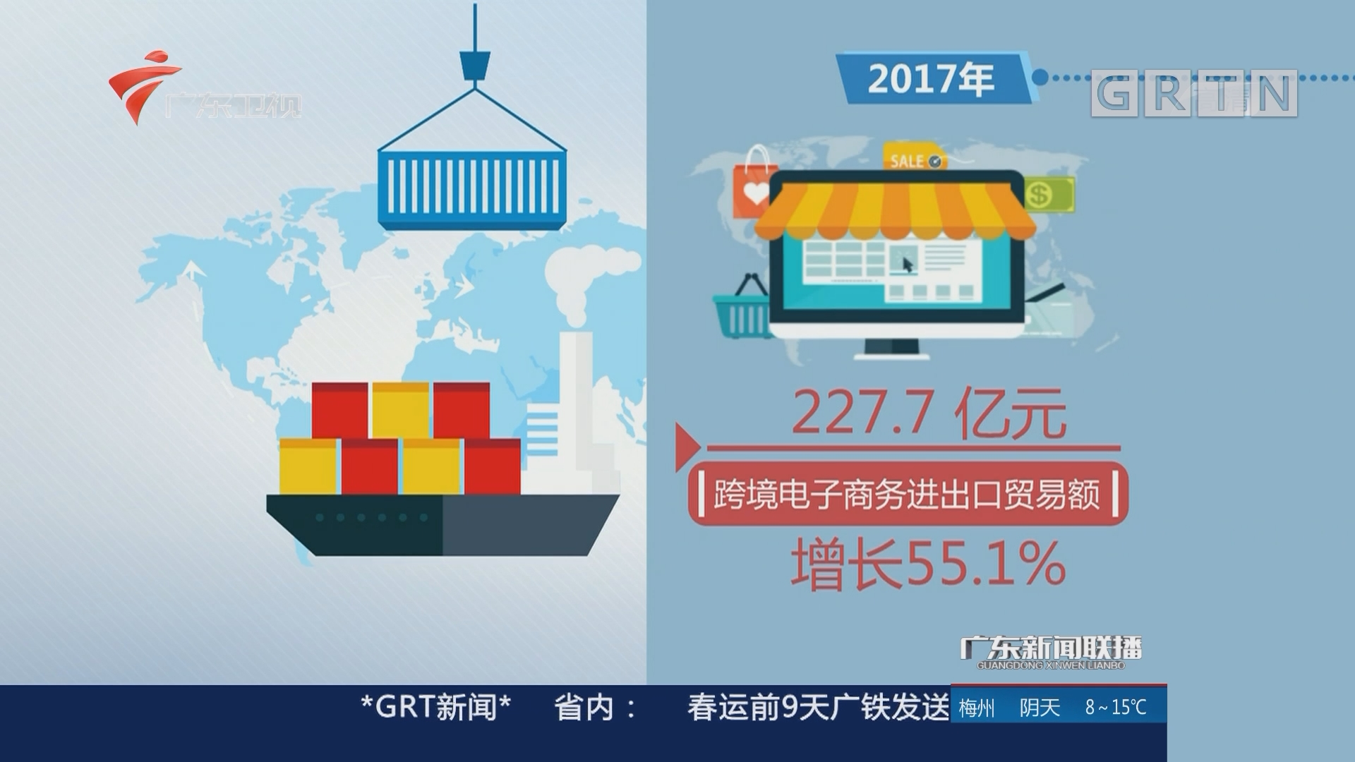 广州:跨境电商业务量连续4年领跑全国