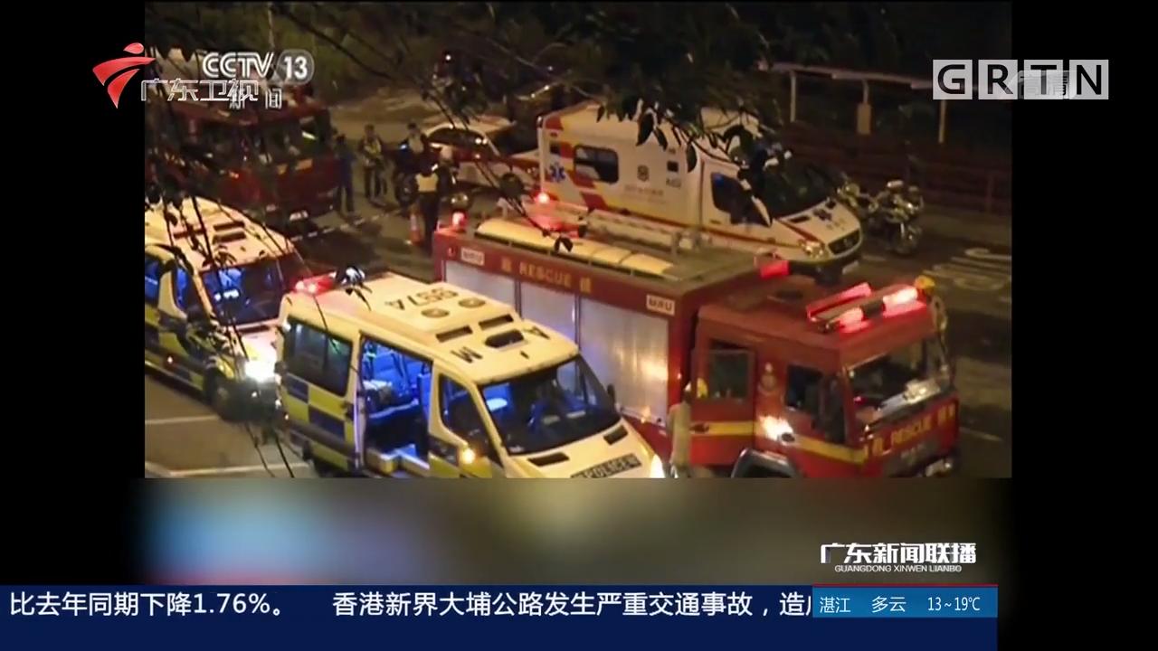 香港特区政府官员探望车祸伤者