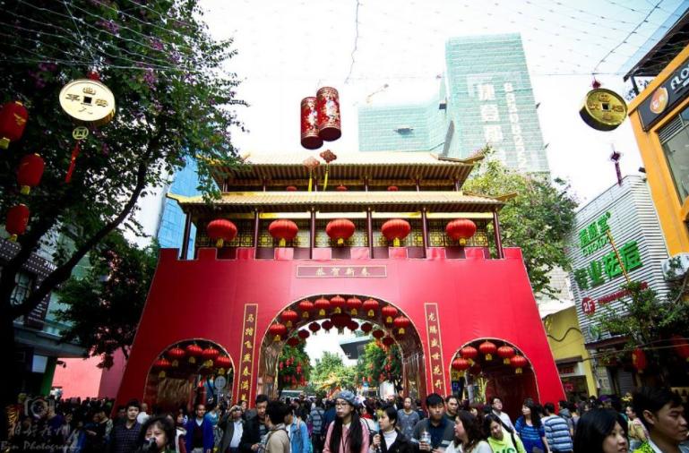 百年花市 设计尽显广府文化
