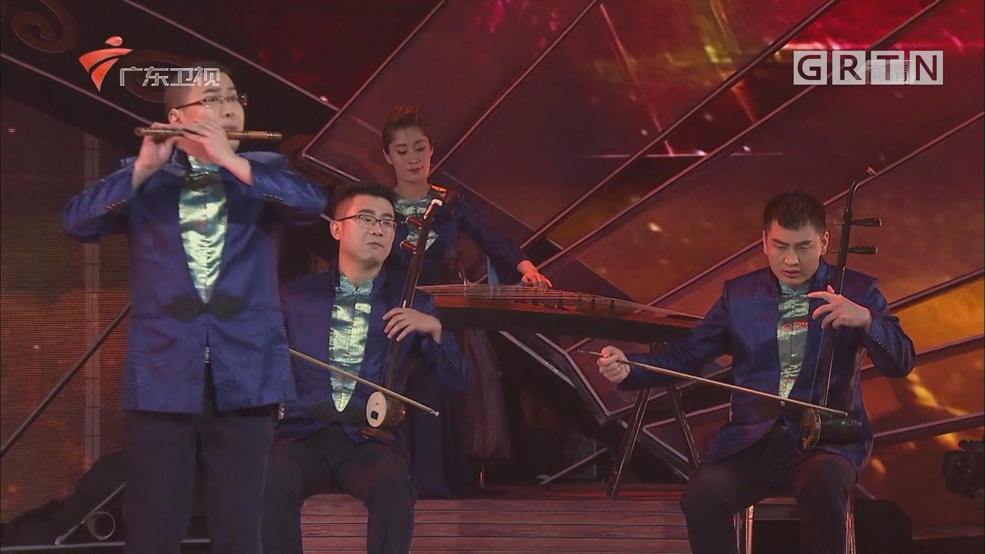 晋风乐团展现百变魅力 演奏神秘《丝绸之路》