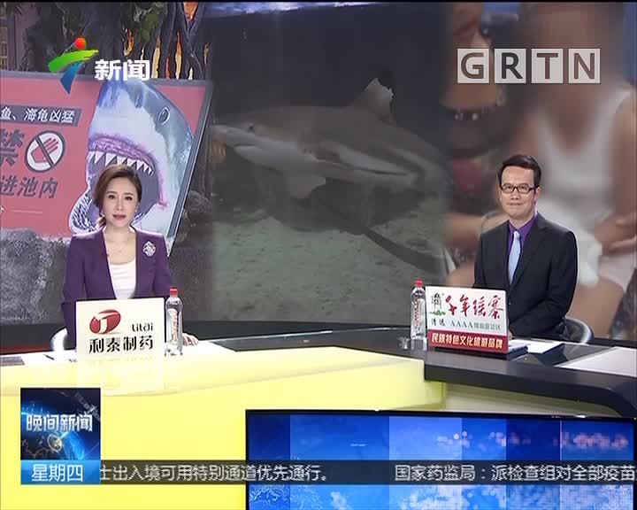 贵州:女孩商场内遭鲨鱼袭击 右手多处软组织受损
