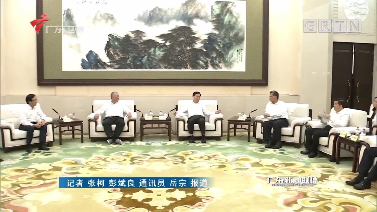 李希马兴瑞会见全国政协副主席何厚铧
