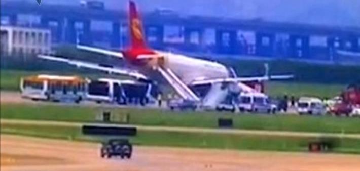 首都航空一客机因故障备降深圳机场