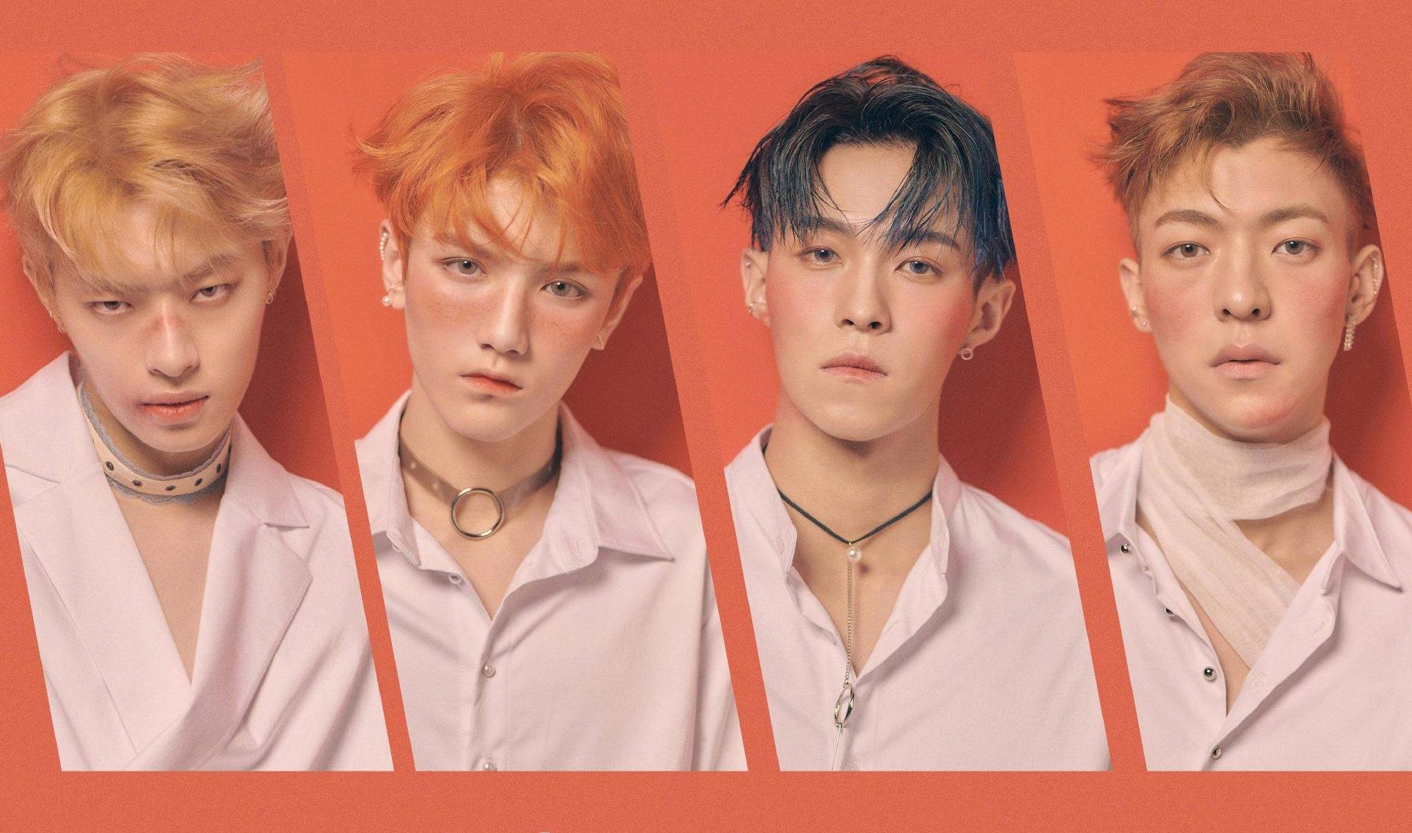 坤音四子ONER携新专辑《过敏》宣布正式出道