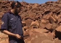 澳土著岩画历史久远:拟申请加入《世界遗产名录》